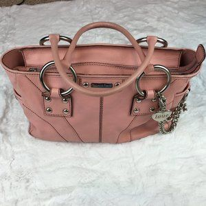 Isabella Fiore pink leather purse